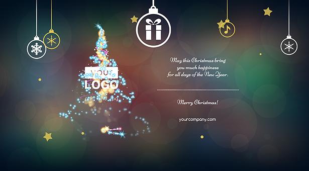 Carte de Noël Lumières Magiques - 6