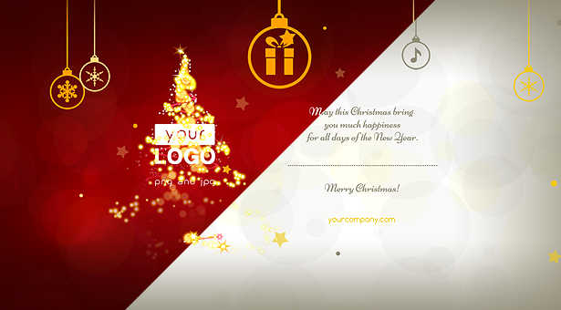 Carte de Noël Lumières Magiques - 7