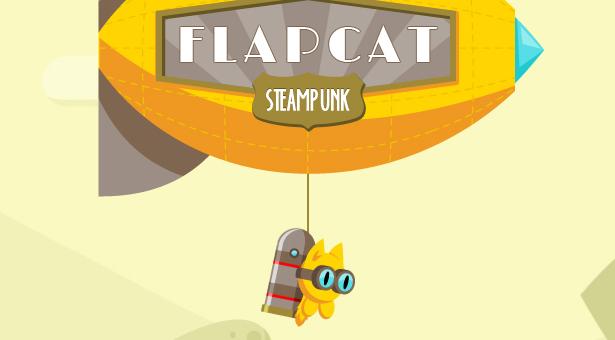 Jeu FlapCat Steampunk - 5